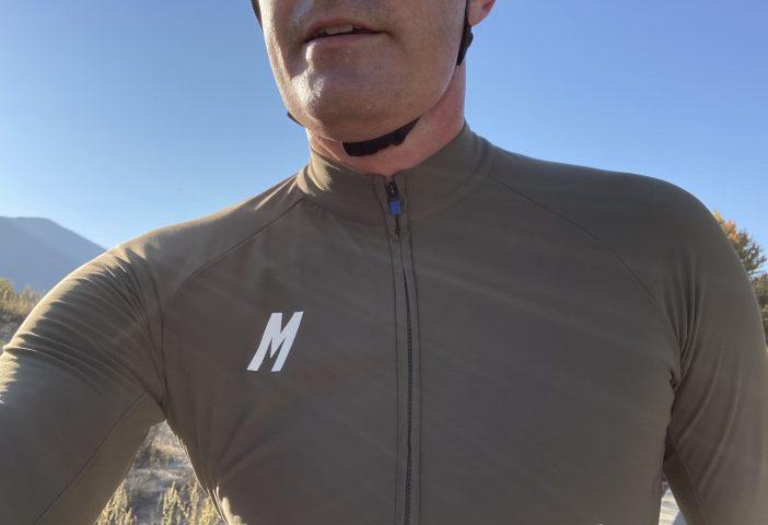 MAAP Training Thermal LS Jersey - Collar Detail